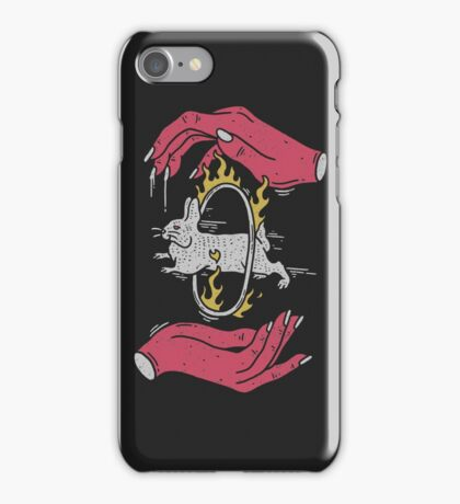 Save The Rabbit iPhone Case/Skin