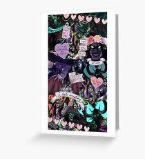 Illidan Stormrage - Collage Greeting Card