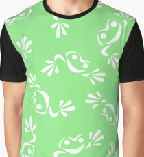 White frog Graphic T-Shirt