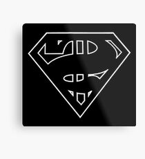 senate super logo in white Metal Print