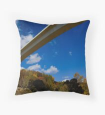 Overpass Throw Pillow