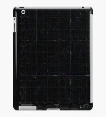 USGS TOPO Map Iowa IA Rush Lake West 20130415 TM Inverted iPad Case/Skin