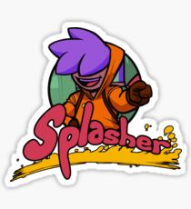 Splasher ! Sticker