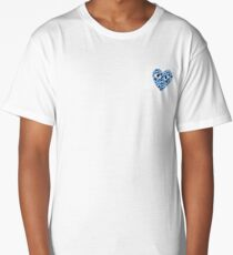 bape x cdg blue Long T-Shirt
