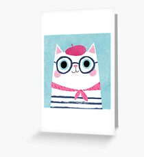 Antoinette Greeting Card