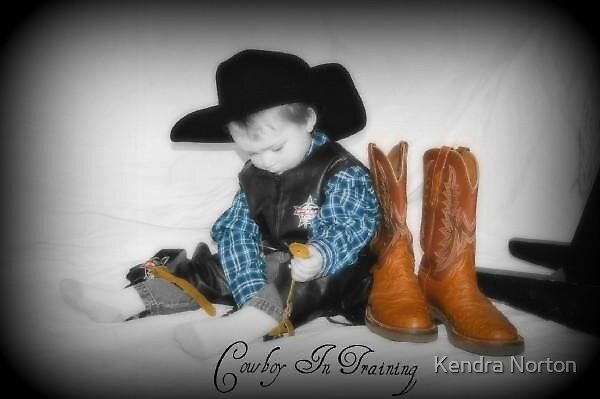 Cowboy in Training by Kendra Norton