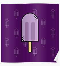 Cute Ice Cream Poster