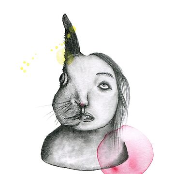 Two faces bunny by SandraBurger
