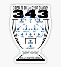 Chelsea CF Winning Formula 2017 Sticker