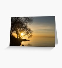 Lacy Sunrise -  Greeting Card