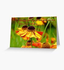 Get Well Soon - Greeting Card - Black Eyed Susan - Cone Flower - NZ Greeting Card
