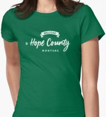 Far cry 5 Hope County Womens Fitted T-Shirt