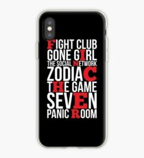 DAVID FINCHER iPhone Case