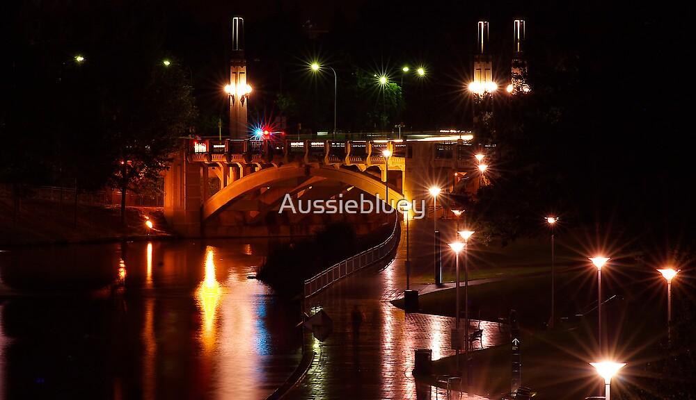 Adelaide Bridge. by Aussiebluey