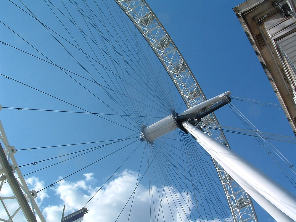 London Eye by sandrab