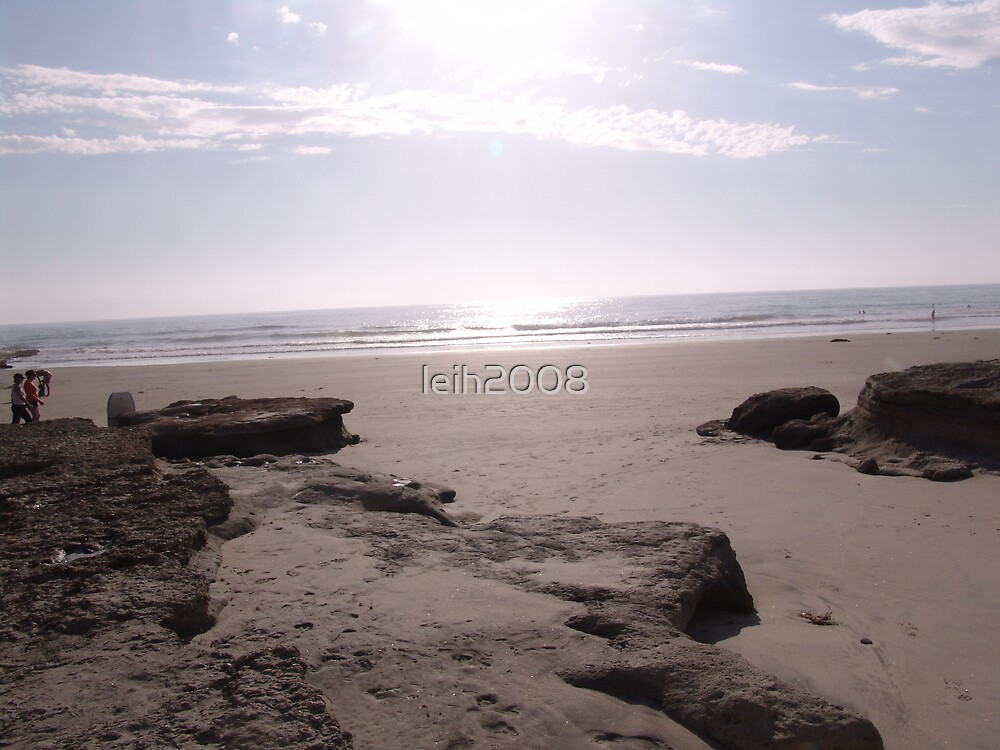 """Solona Beach, CA """"Sparkling Afternoon on the beach"""" by leih2008"""