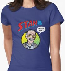 Stan the Man - 'Nuff Said! Women's Fitted T-Shirt