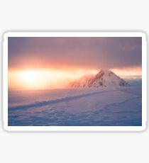 Snow Capped Mountains Sticker