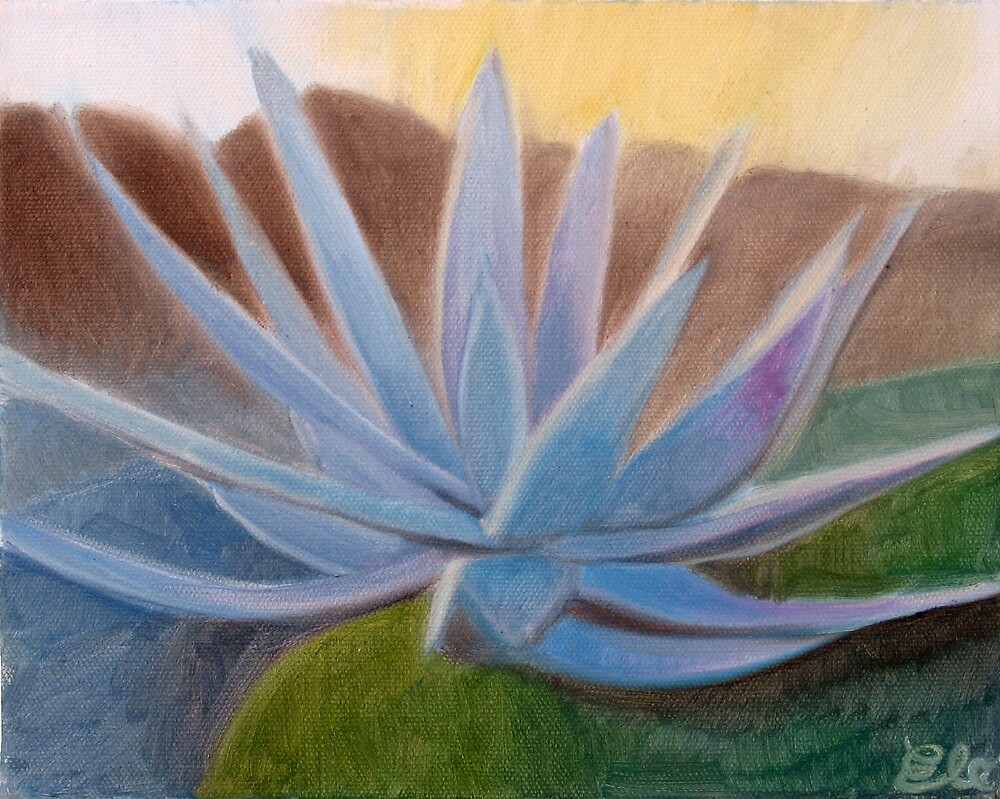 Blue Plant by Elohim Sanchez