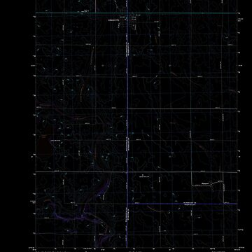 USGS TOPO Map Iowa IA Gilmore City 20130415 TM Inverted by wetdryvac