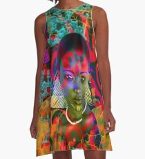 Lost in the Jungle A-Line Dress