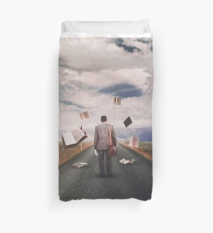 The Illusion Of Reality Duvet Cover