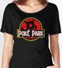 Poképark Women's Relaxed Fit T-Shirt