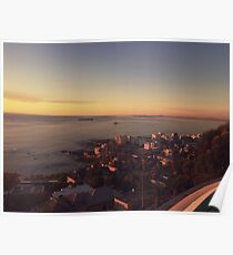 Bantry Bay Sunset Poster
