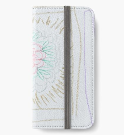 Framed Florals iPhone Wallet