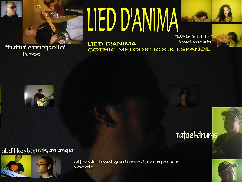 """my band""""lied d'anima""""  by pdk1955"""
