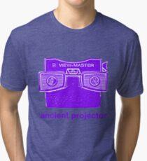 Ancient Projector Tri-blend T-Shirt