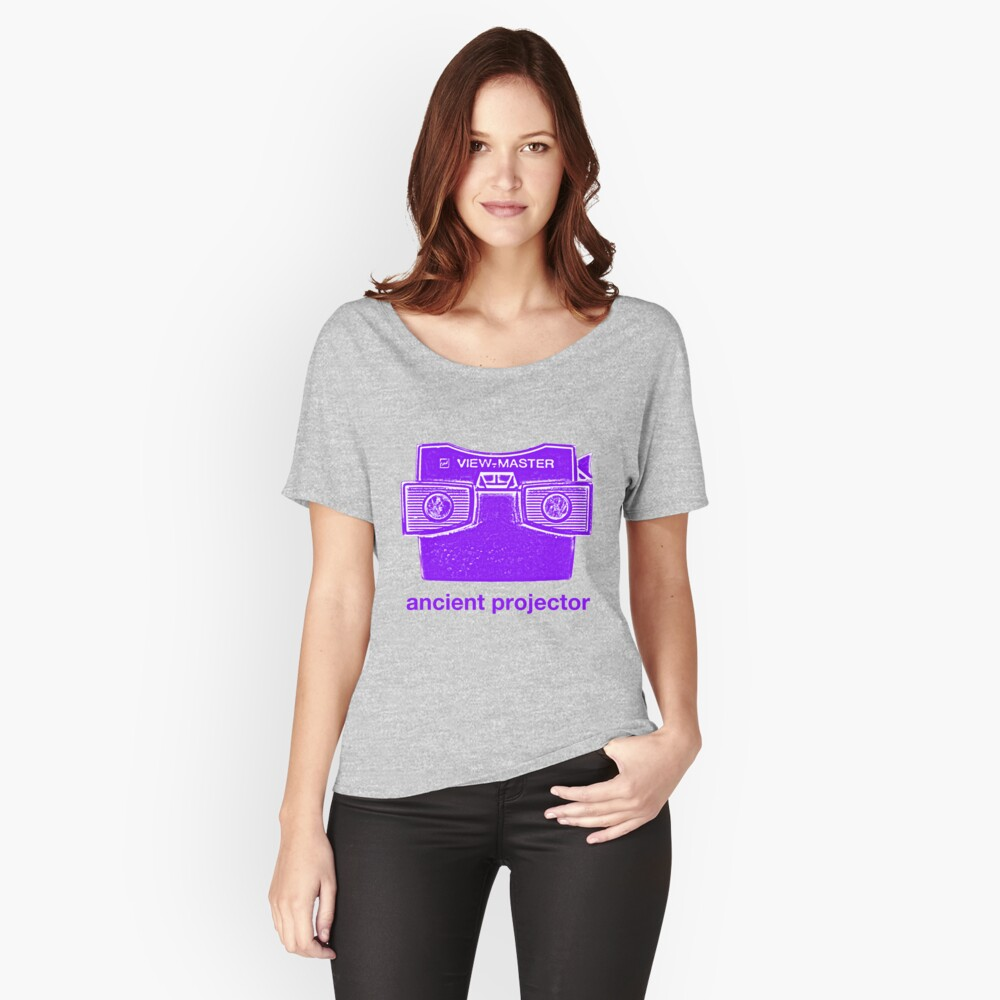 Ancient Projector Loose Fit T-Shirt