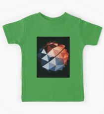 Abstract Meteor Blue & Red Kids Tee