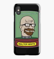 Walter White Futurama Jar Head Mashup iPhone Case