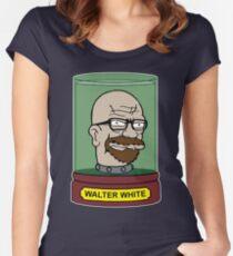 Walter White Futurama Jar Head Mashup Women's Fitted Scoop T-Shirt