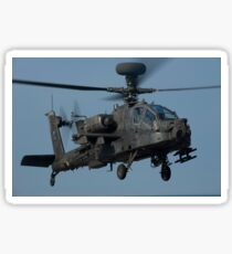 A U.S. Army AH-64 Apache helicopter. Sticker