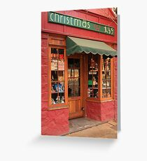 The Old Christmas Shop, Bridgetown, Western Australia Greeting Card