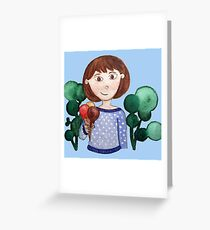 Time for ice cream Greeting Card