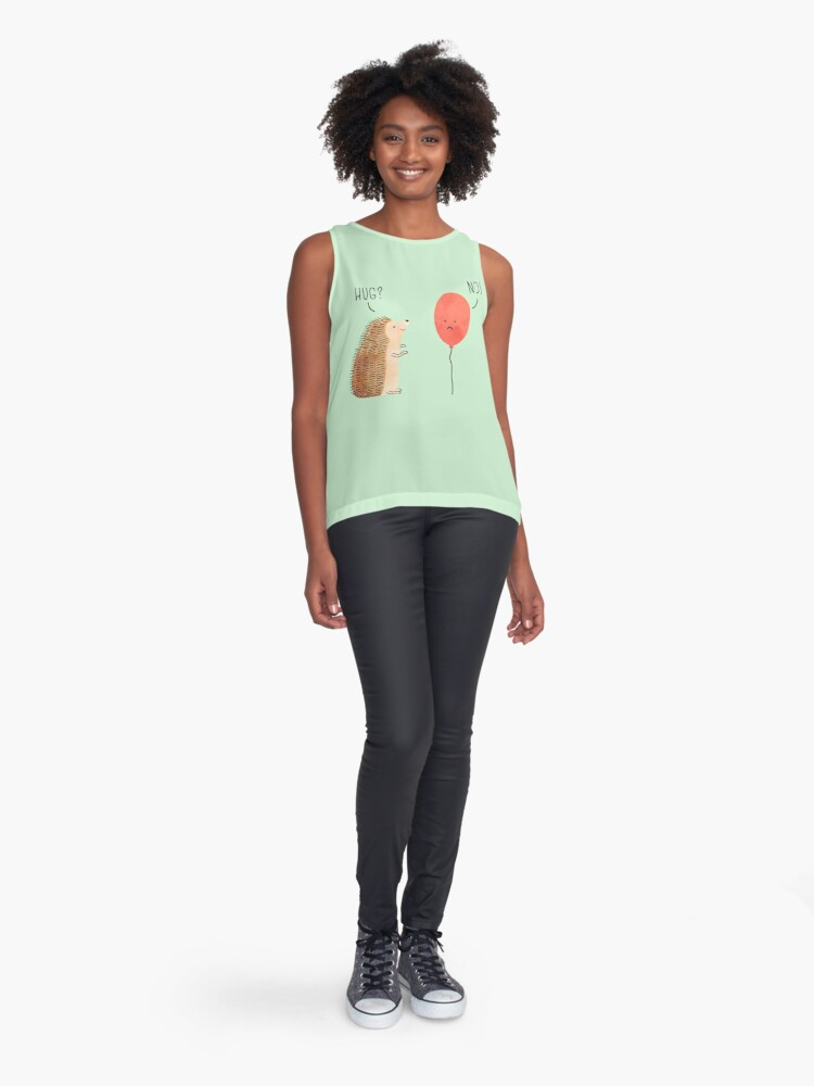 Alternate view of impossible love Sleeveless Top