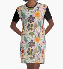 Secret Garden Graphic T-Shirt Dress