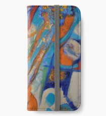Abstract guitar  iPhone Wallet
