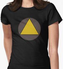 David Legion Triangle  Womens Fitted T-Shirt