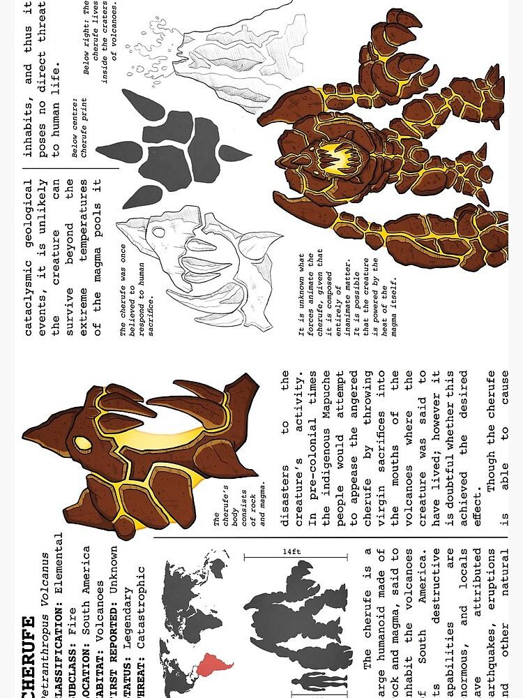 Monster Guide: Cherufe by ollierayart