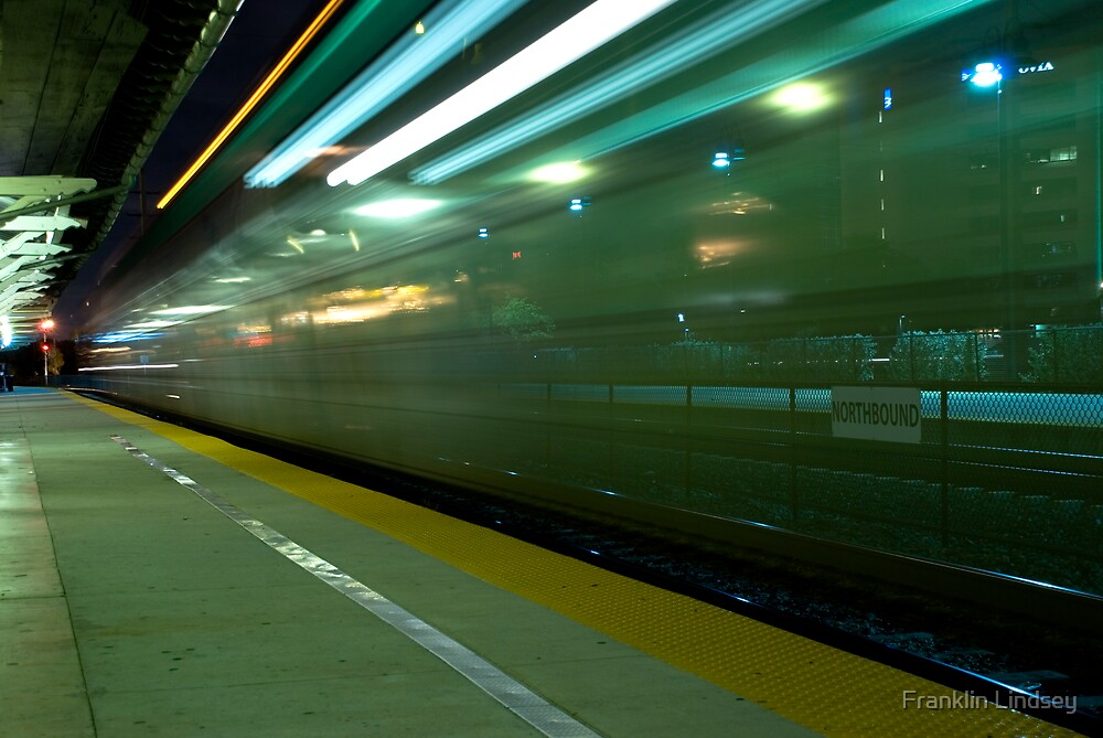 A Commuter Express Train by Franklin Lindsey