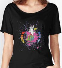N64 Tribute Splat Women's Relaxed Fit T-Shirt