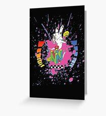 N64 Tribute Splat Greeting Card