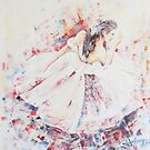 BALLERINA IN RED by jovica