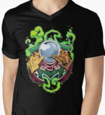 Camiseta para hombre de cuello en v Sr. Mysterio