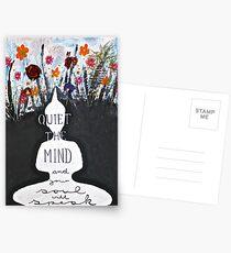 Quiet the mind  Postcards