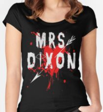 walking dead accessories Women's Fitted Scoop T-Shirt